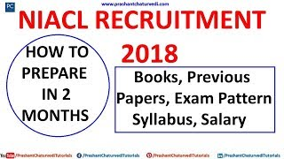 NIACL EXAM PATTERN, SYLLABUS, PREVIOUS PAPER, BOOKS // HOW TO PREPARE