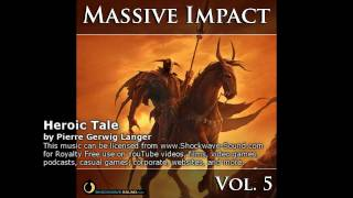 Massive Impact 5, video 1 of 2 - royalty free music, epic stock music collection