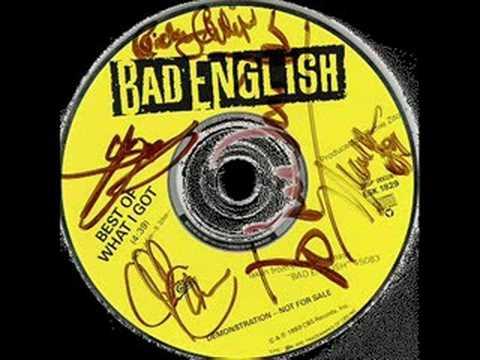 BAD ENGLISH - PRICE OF LOVE
