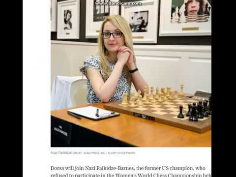 Iranian Chess Grandmaster Dorsa Derakhshani switches to US after being banned from national team