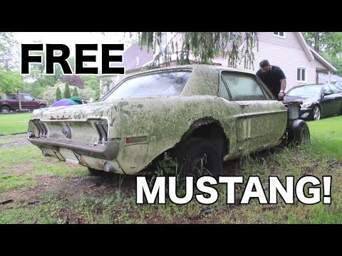 WAIT!!! FREE 1968 Ford Mustang THIS IS UNBELIEVEABLE!!!