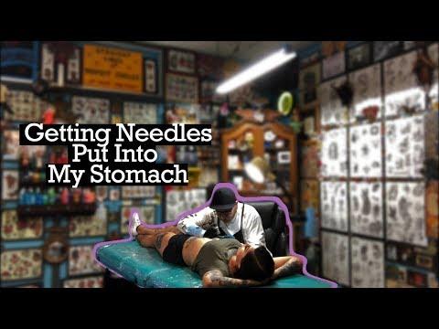 Surviving a Stomach Tattoo | Tattoo Vlog