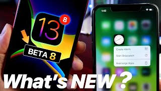 iOS 13 Beta 8 Keeps Getting BETTER - What's NEW ?