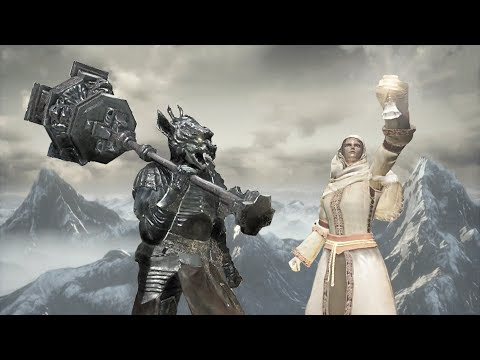 Dark Souls 3 PvP - Vordt and Outrider - Frost Friends Team Battle