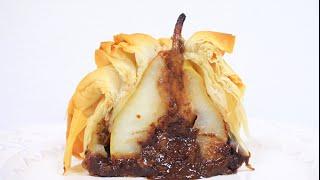 Груша / Яблоко, запеченные в тесте Фило / Pear / Apple baked in Phyllo Pastry