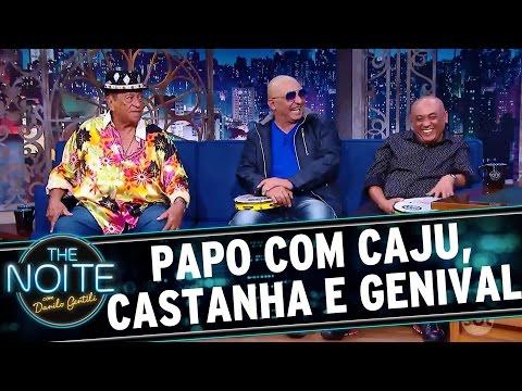 The Noite (03/10/16) - Entrevista com Genival Lacerda e Caju e Castanha
