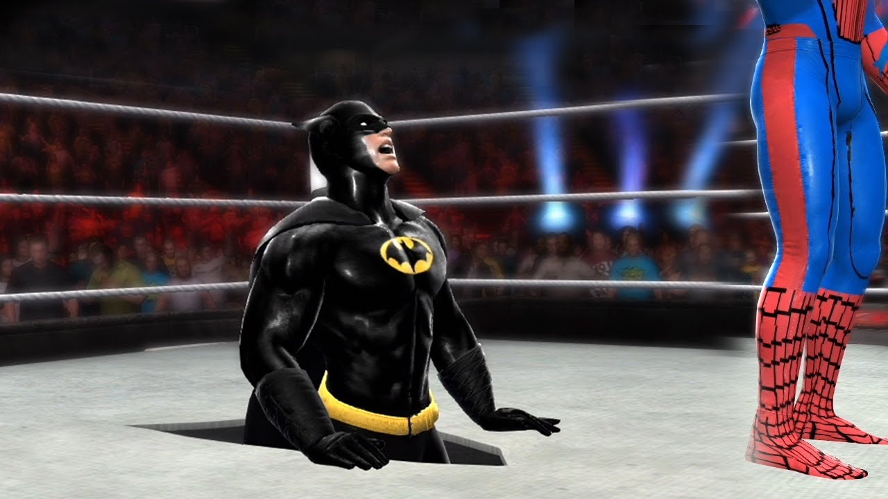 Download SPIDERMAN VS BATMAN - Hell In A Cell Match
