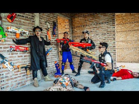 LTT Nerf War : Captain SEAL X Warriors Nerf Guns Fight Dr.Lee Crazy Base Guard From Dangerous People