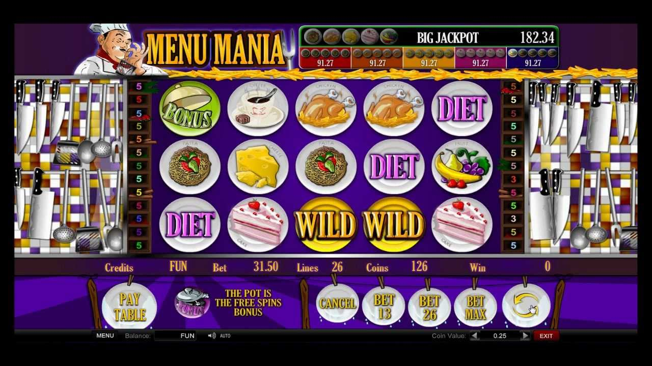 Spiele Menu Mania - Video Slots Online