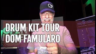Dom Famularo presents his drum kit