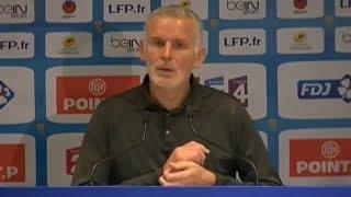 Conférence de presse après Montpellier-Bordeaux