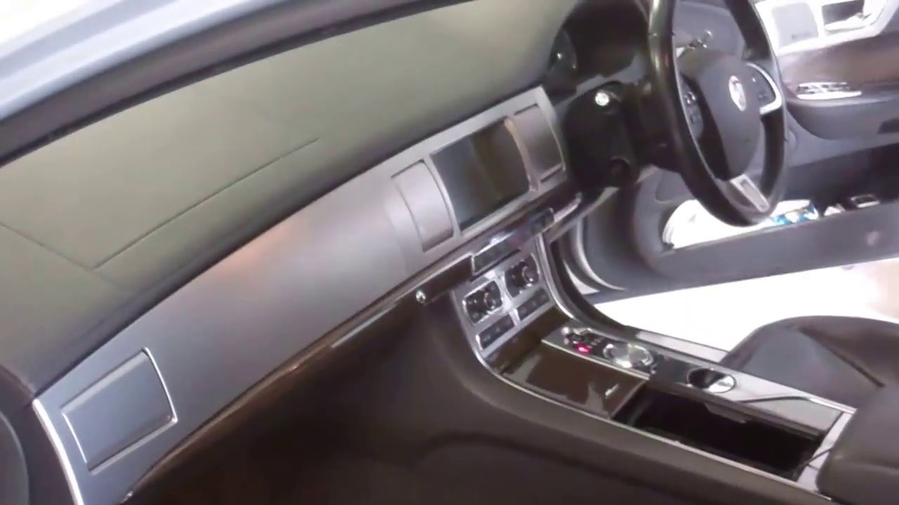 Jaguar XF front seat upgrade on