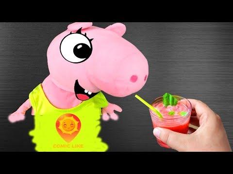 Реальная Жизнь Свинки Пиги #1 - Лимонад с огурца и клубники