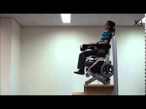 A compact stair-climbing wheelchair with a 7-DOF leg mechanism