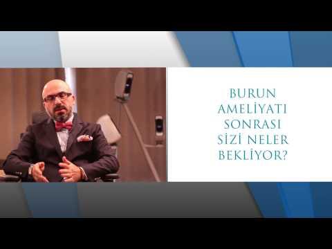 Burun estetiği öncesi neler oluyor Dr.Süreyya Şeneldir