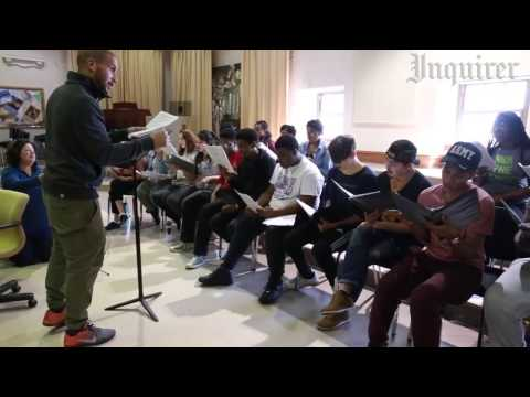 The Inquirer: Sydney James Harcourt Rehearses with CAPA Students