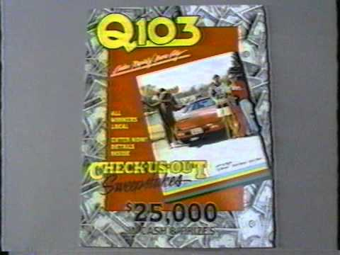 Q103 Sweepstakes 1989