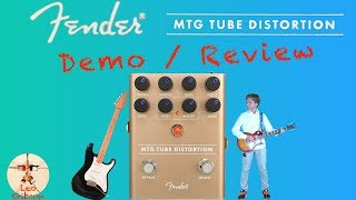 Fender MTG Tube Distortion Pedal: demo & review (a very nice Marshall SV20 companion)