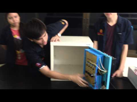 โปรเจค Locker touch วิศวกรรมอัตโนมัติปี2 KMITL