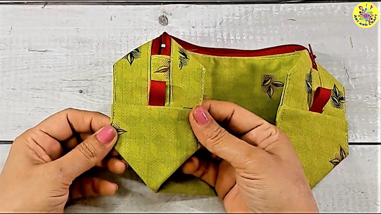 3 Easy Technique and Tips To Make Purse and Pouch At Home