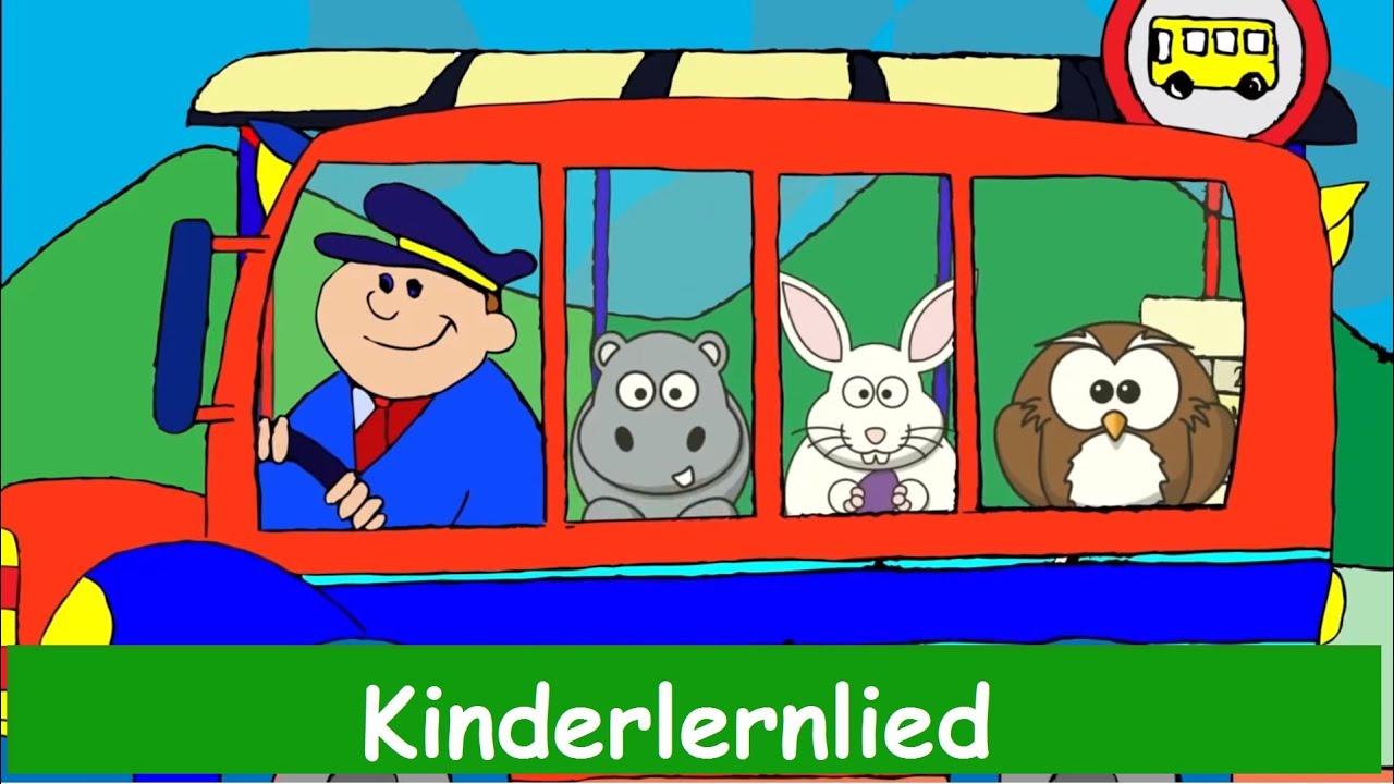 Wir fahren mit dem Bus und alles bewegt sich - Kinderlied - Sing mit  Yleekids