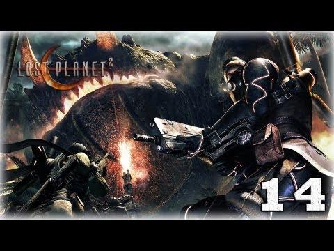Смотреть прохождение игры [Coop] Lost Planet 2. Серия 14 - В открытом космосе.