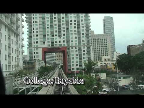 Miami Downtown Metromover - Inner Loop 2011