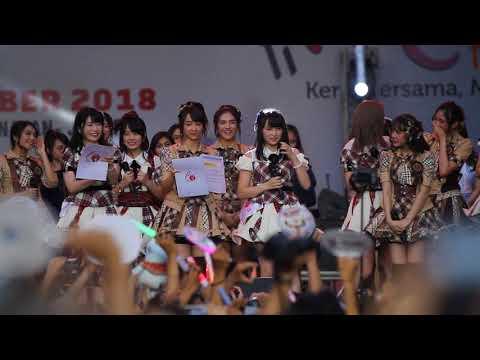PENGUMUMAN PERTUKARAN/TRANSFER SAYAYA AKB48 DAN STEFI JKT48 - Jak Japan Matsuri 2018