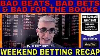 Bad Beats, Bad Bets and Bad for the Books | WagerTalk's Weekend Betting Recap w/ Teddy Covers | 9/27