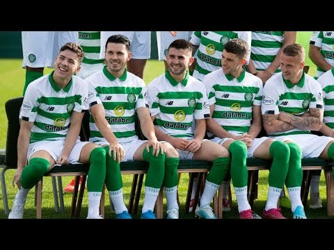 Celtic 2019/20 Squad Photoshoot: Behind the Scenes