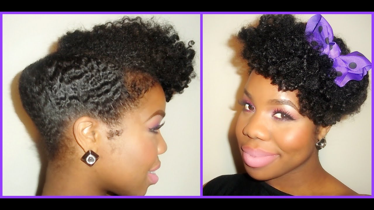 """NATURAL HAIR"": CHIC, SEXY, ELEGANT!!! UPDO - YouTube"
