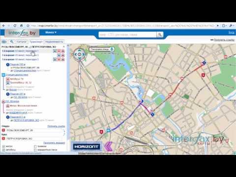Транспорт на Interfax.by-Карты