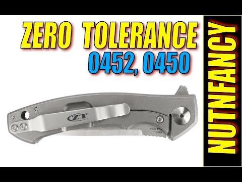 Near Perfect Zero Tolerance Knives:  0450 Series