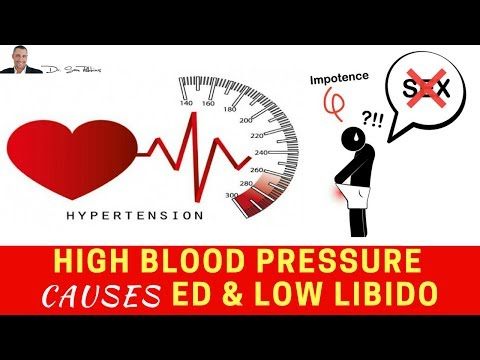 🌡 High Blood Pressure Causes Erectile Dysfunction & Lowers Your Libido