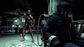 Batman Arkham Asylum demo walkthrough with commentary