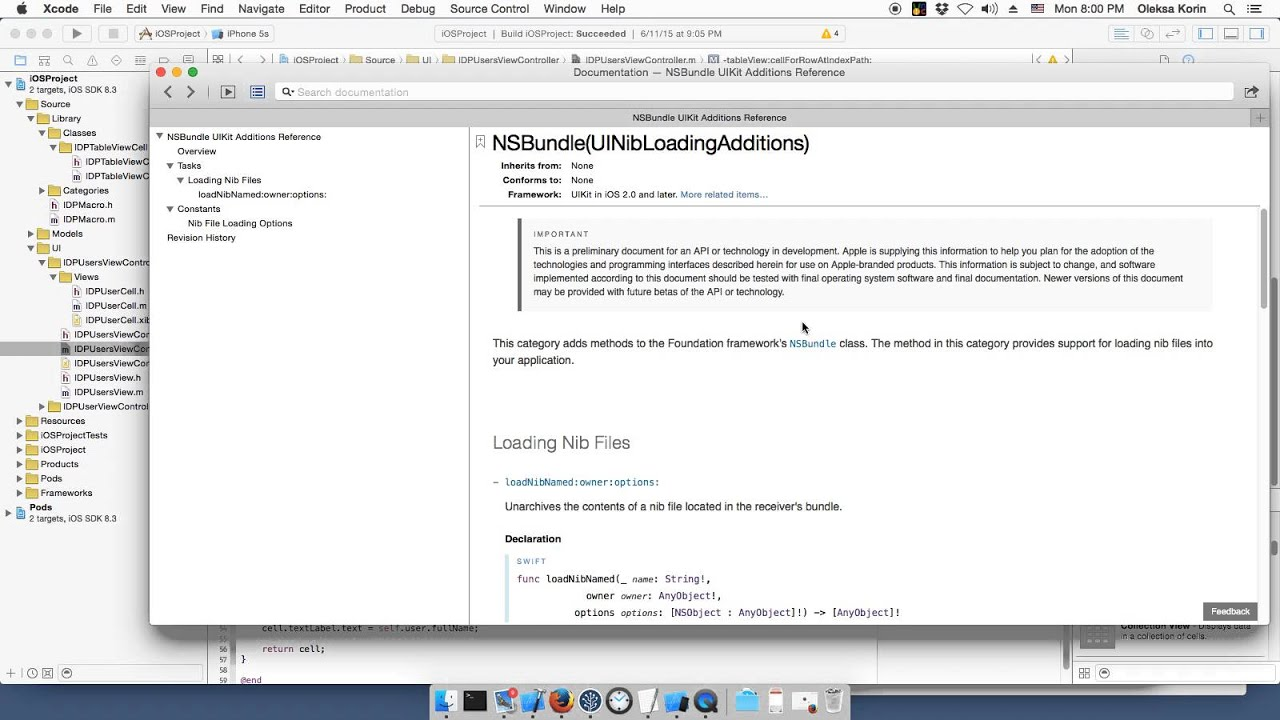 Objective c background image view - 7 Objective C Ui Table View Cell Nib Loading Lazy Image Loading Coding