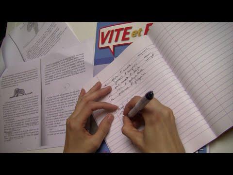 ASMR French Homework - Le Petit Prince