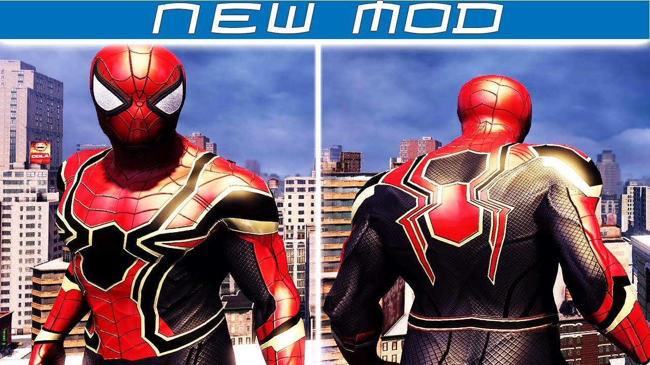 avengers: infinity war spider-man suit - the amazing spider-man 2
