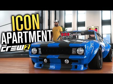 ICON APARTMENT & Widebody Camaro | The Crew 2 FULL Walkthrough - Part 5
