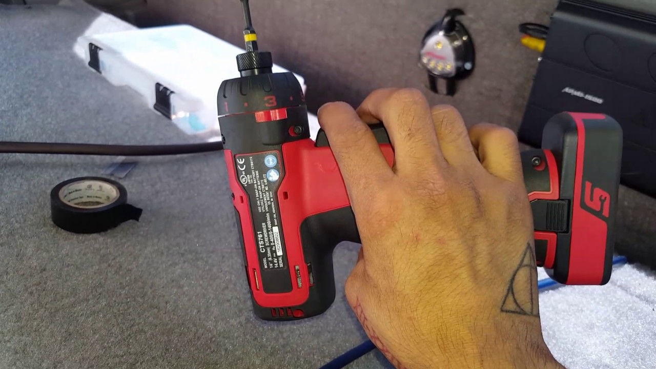 14 4V MicroLithium CTS761 Cordless Screwdriver | Snap-on