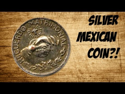 SILVER MEXICAN COIN?! -Coin Roll Hunting-