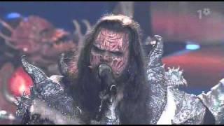 Lordi - Hard-Rock Hallelujah (Eurovision 2006 Live) HD