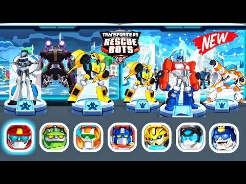 Transformers Rescue Bots: Disaster Dash Hero Run | All Bots Unlocked - Rescue Bots | Missions #3