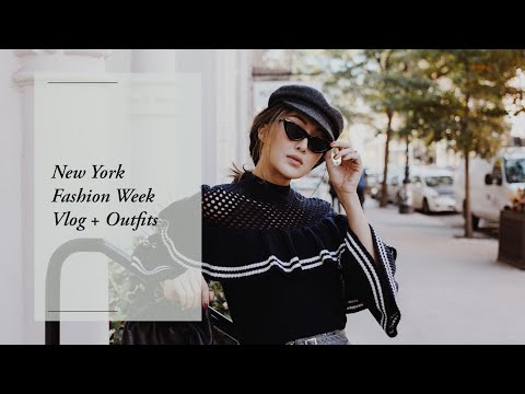 New York Fashion Week - Vlog + Outfits | Chriselle Lim