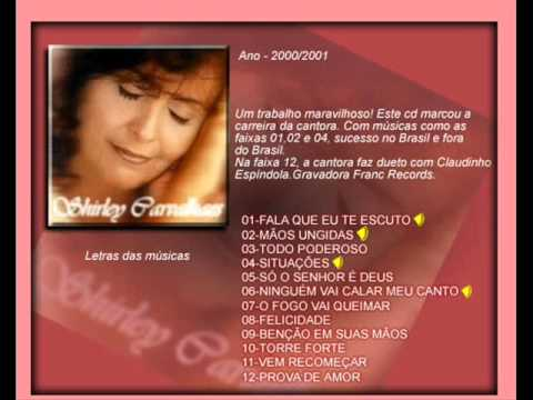SHIRLEY CARVALHAES  NINGUÉM VAI CALAR MEU CANTO CD COMPLETO