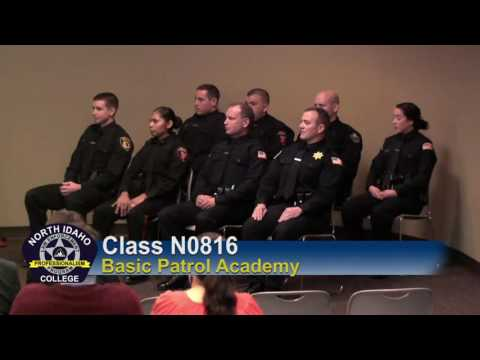 North Idaho College Basic Patrol Academy Commencement 2016
