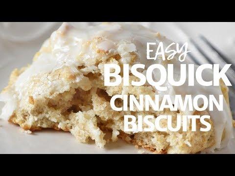 Easy Bisquick Cinnamon Biscuits