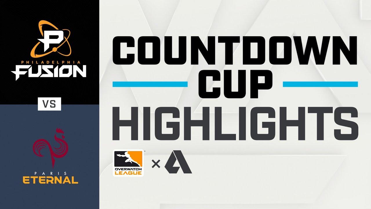 Akshon Highlights   Semi-Final B   @Philadelphia Fusion vs @Paris Eternal   Countdown Cup   NA Day 3