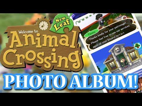 ANIMAL CROSSING NEW LEAF: PHOTO ALBUM!