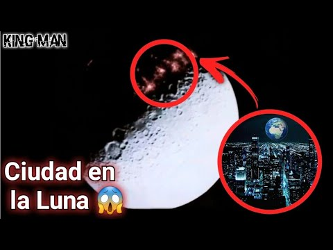 La ciudad óculta que se encuentra en el lado oscuro de la Luna (Dark side moon) ??